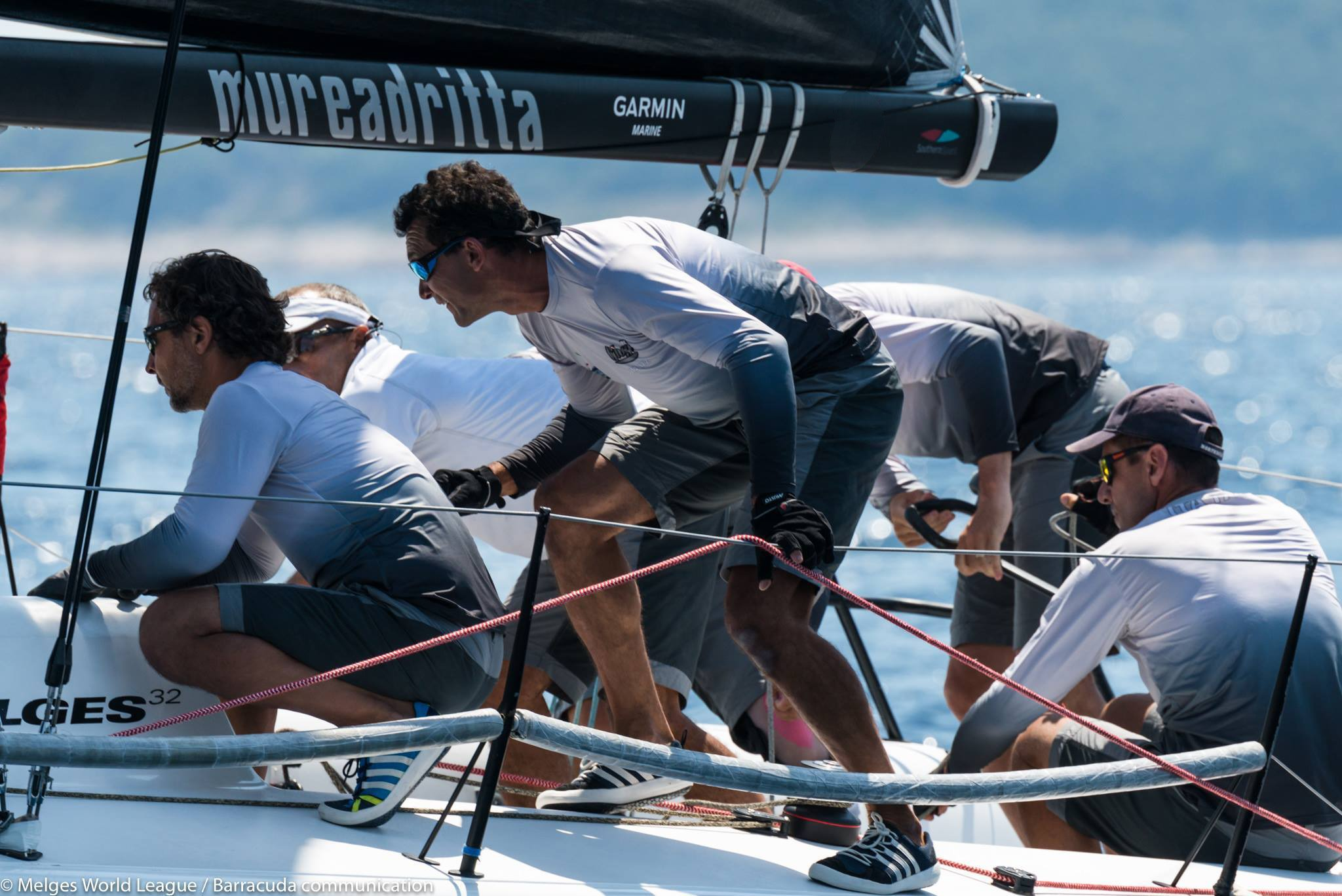 Mureadritta all'European Championship Melges 32 con La Spezia Sailing Team